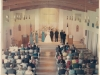 First wedding in the 1963 Church