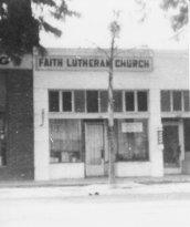 Faith Lutheran's home from 1943 to 1947