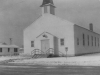 Faith Chapel in the snow fall of 1948